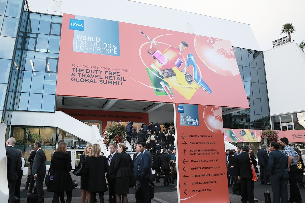 tax free world exhibition, duty free, Palais des festivals